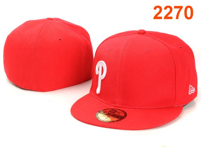 Philadelphia Phillies MLB Fitted Hat PT23