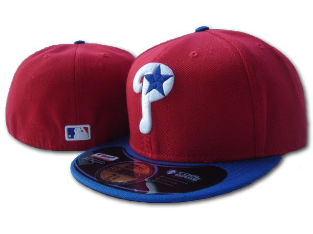 Philadelphia Phillies MLB Fitted Hat SF1