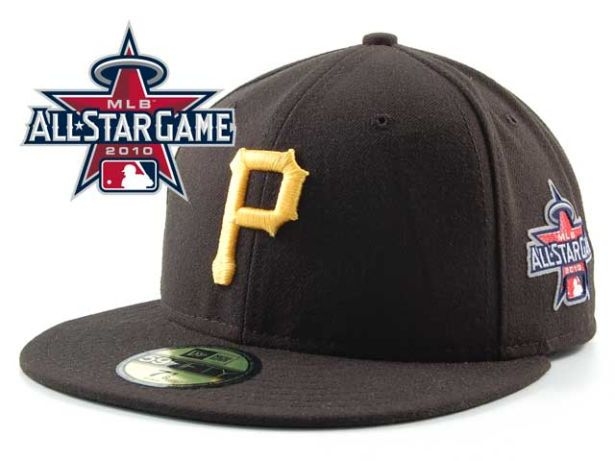 Pittsburgh Pirates 2010 MLB All Star Fitted Hat Sf19