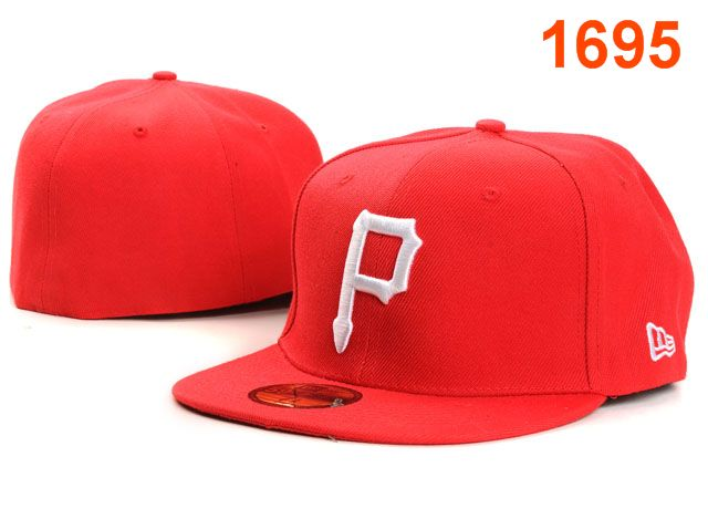 Pittsburgh Pirates MLB Fitted Hat PT06
