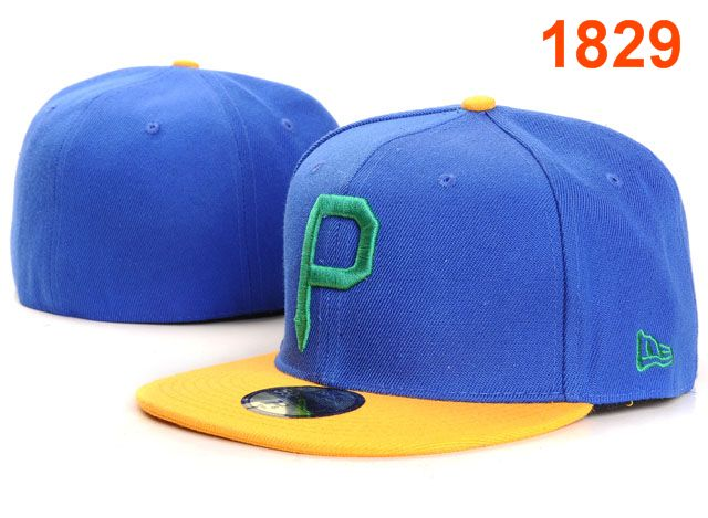Pittsburgh Pirates MLB Fitted Hat PT23