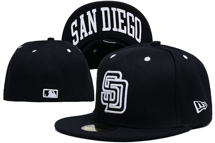 San Diego Padres LX Fitted Hat 140802 0134