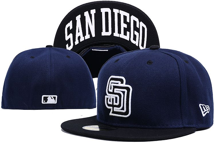 San Diego Padres LX Fitted Hat 140802 0137