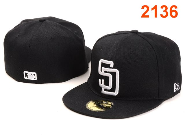 San Diego Padres MLB Fitted Hat PT1