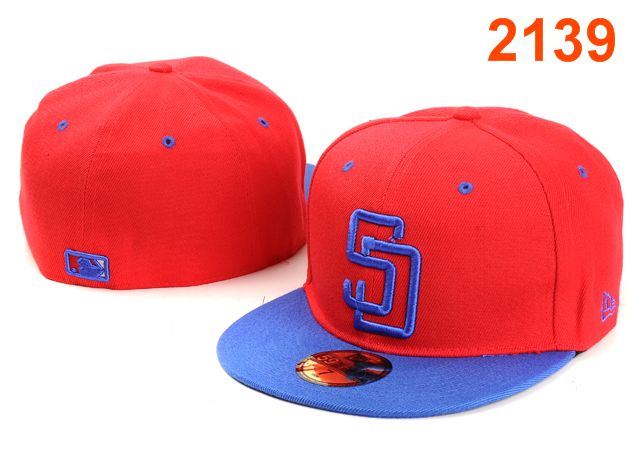 San Diego Padres MLB Fitted Hat PT4