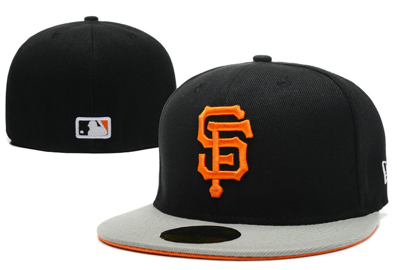 San Francisco Giants Black Fitted Hat LX 1 0721
