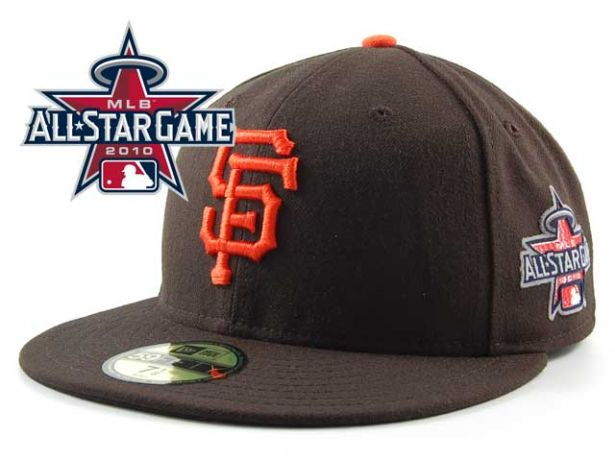 San Francisco Giants 2010 MLB All Star Fitted Hat Sf20