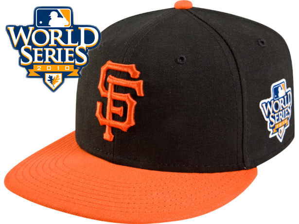 San Francisco Giants 2010 MLB World Series Fitted Hat Sf1