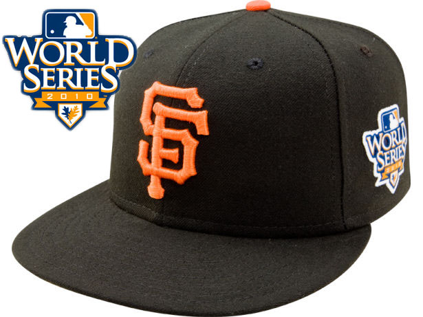 San Francisco Giants 2010 MLB World Series Fitted Hat Sf2
