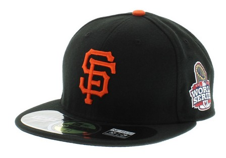 San Francisco Giants 2012 MLB WORLD SERIES HAT Sf3