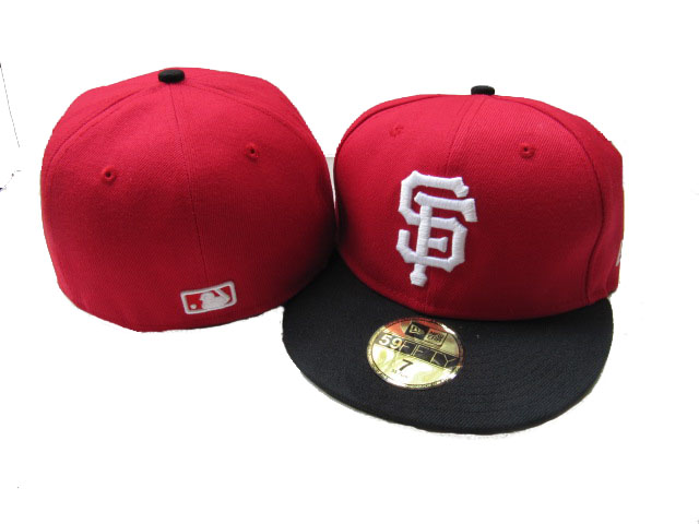 San Francisco Giants MLB Fitted Hat LX06