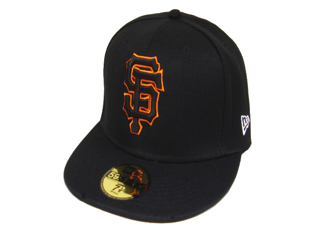 San Francisco Giants MLB Fitted Hat LX08