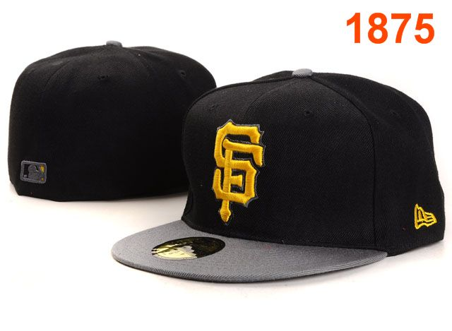 San Francisco Giants MLB Fitted Hat PT01