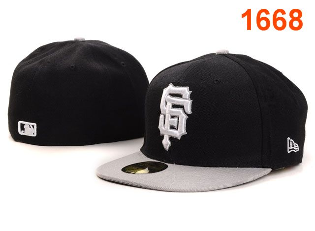 San Francisco Giants MLB Fitted Hat PT03