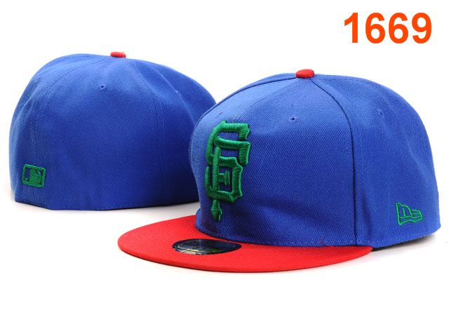 San Francisco Giants MLB Fitted Hat PT04