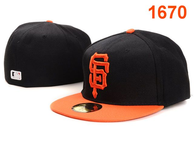 San Francisco Giants MLB Fitted Hat PT05