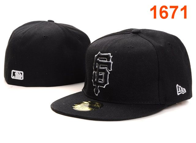 San Francisco Giants MLB Fitted Hat PT06