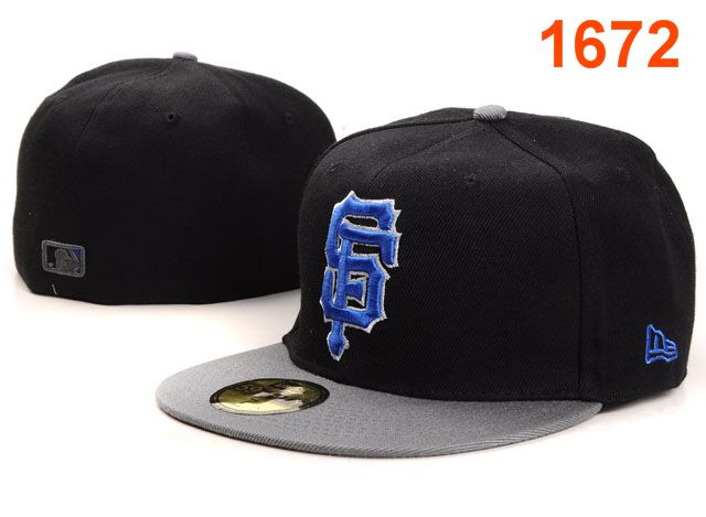 San Francisco Giants MLB Fitted Hat PT07