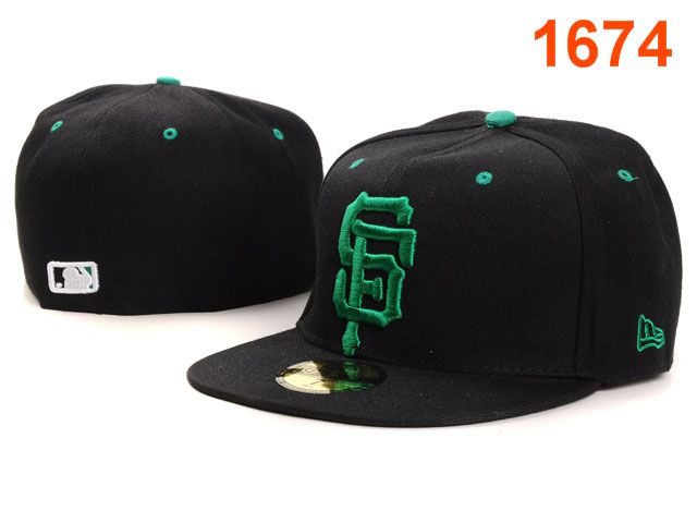 San Francisco Giants MLB Fitted Hat PT08