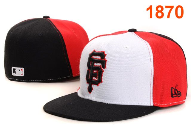 San Francisco Giants MLB Fitted Hat PT09