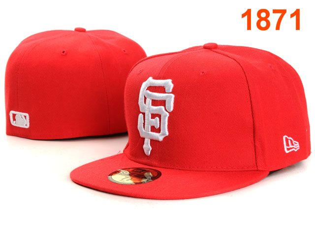 San Francisco Giants MLB Fitted Hat PT10