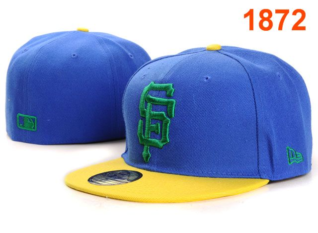 San Francisco Giants MLB Fitted Hat PT11