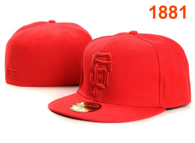 San Francisco Giants MLB Fitted Hat PT19