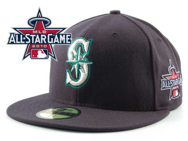 Seattle Mariners 2010 MLB All Star Fitted Hat Sf25