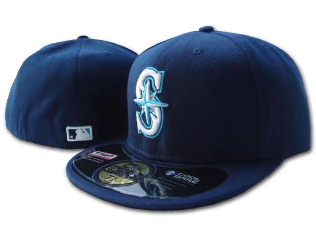 Seattle Mariners Fitted Hat Sf