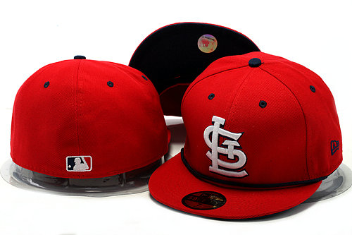 St. Louis Cardinals Red Fitted Hat YS 0528