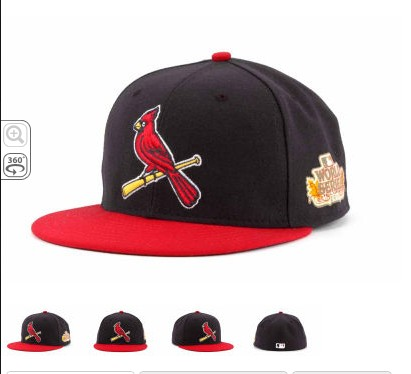 St. Louis Cardinals 2011 MLB World Series Patch Hat SF4