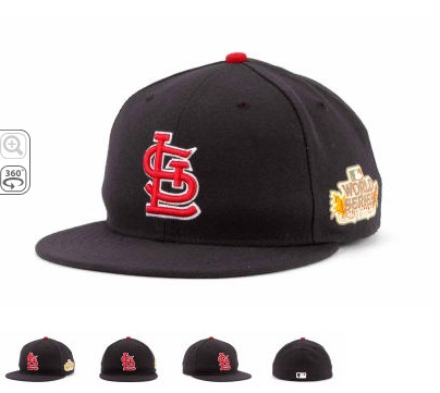 St. Louis Cardinals 2011 MLB World Series Patch Hat SF5