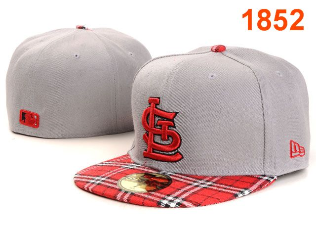 St. Louis Cardinals MLB Fitted Hat PT03