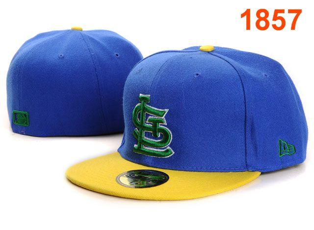 St. Louis Cardinals MLB Fitted Hat PT08