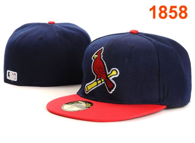 St. Louis Cardinals MLB Fitted Hat PT09