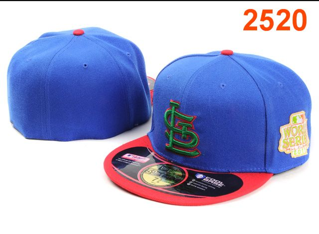 St. Louis Cardinals MLB Fitted Hat PT11