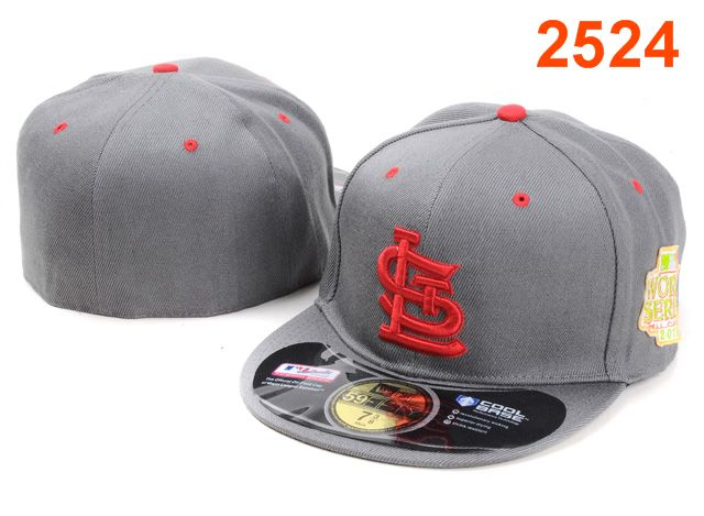 St. Louis Cardinals MLB Fitted Hat PT14