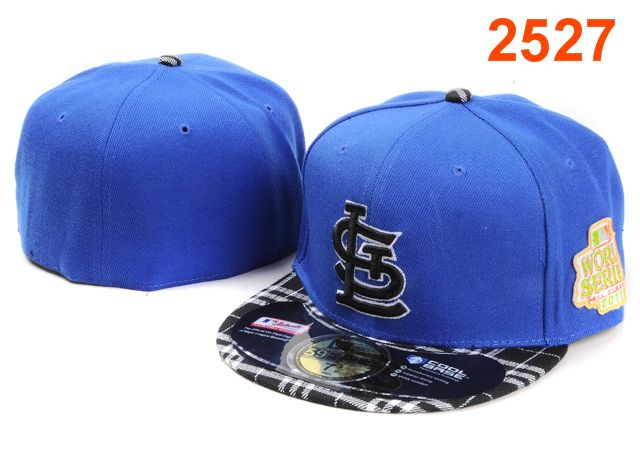 St. Louis Cardinals MLB Fitted Hat PT17