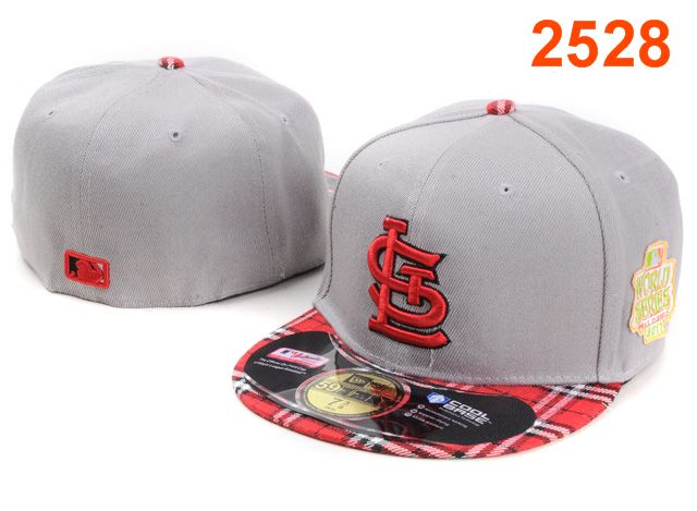St. Louis Cardinals MLB Fitted Hat PT18