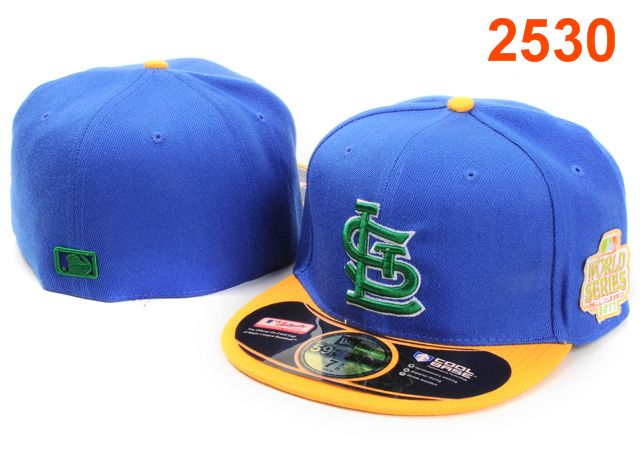 St. Louis Cardinals MLB Fitted Hat PT19