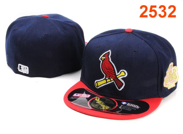 St. Louis Cardinals MLB Fitted Hat PT20