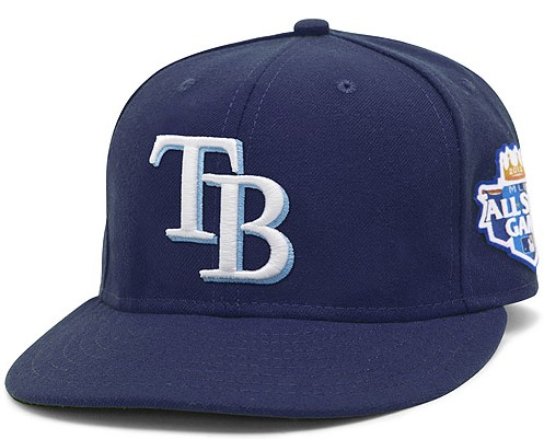 Tampa Bay Rays 2012 MLB All Star Fitted Hat SF13