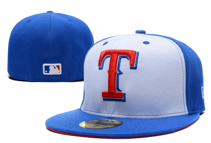 Texas Rangers Fitted Hat LX 1 0721