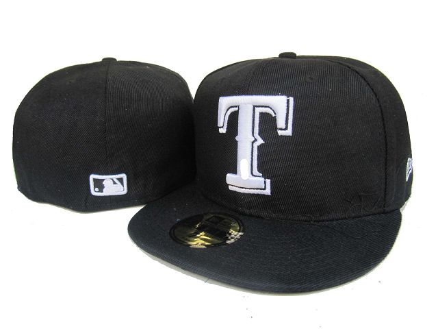 Texas Rangers MLB Fitted Hat LX2