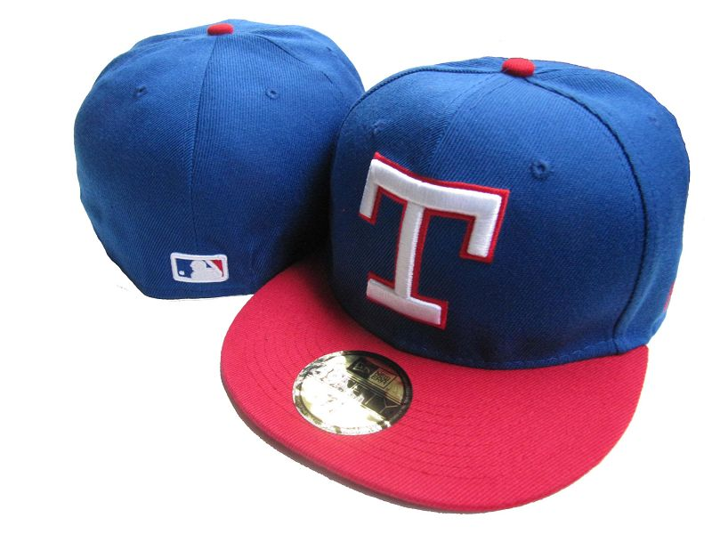 Texas Rangers MLB Fitted Hat LX4
