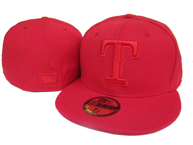 Texas Rangers MLB Fitted Hat LX5
