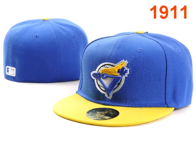 Toronto Blue Jays MLB Fitted Hat PT02