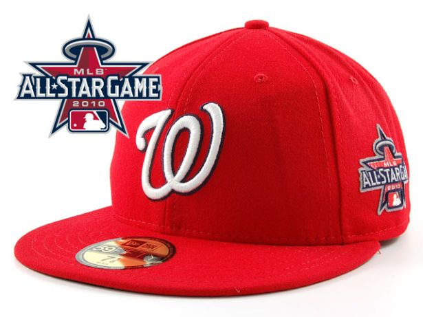 Washington Nationals 2010 MLB All Star Fitted Hat Sf24