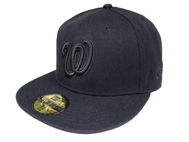 Washington Nationals MLB Fitted Hat LX04