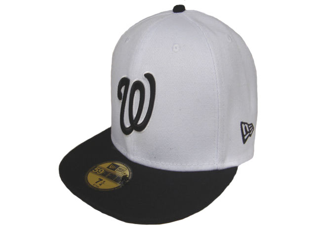 Washington Nationals MLB Fitted Hat LX05